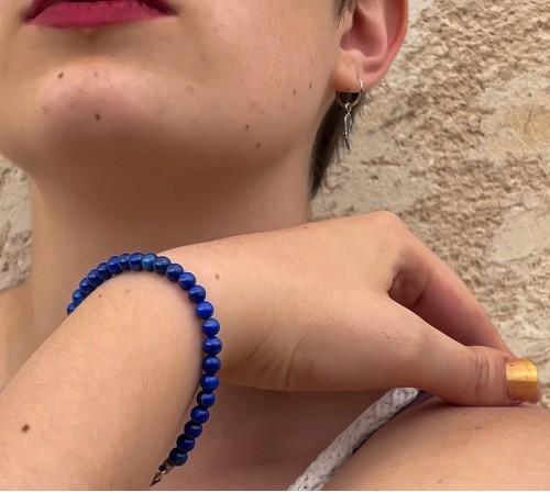 Lapislázuli pulsera pequeña