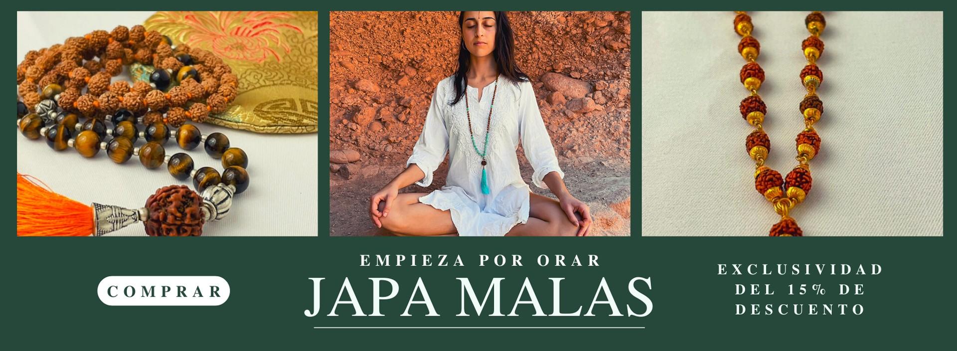 Descubre los Japa Malas de Rasmi e incorpóralos a tu práctica espiritual