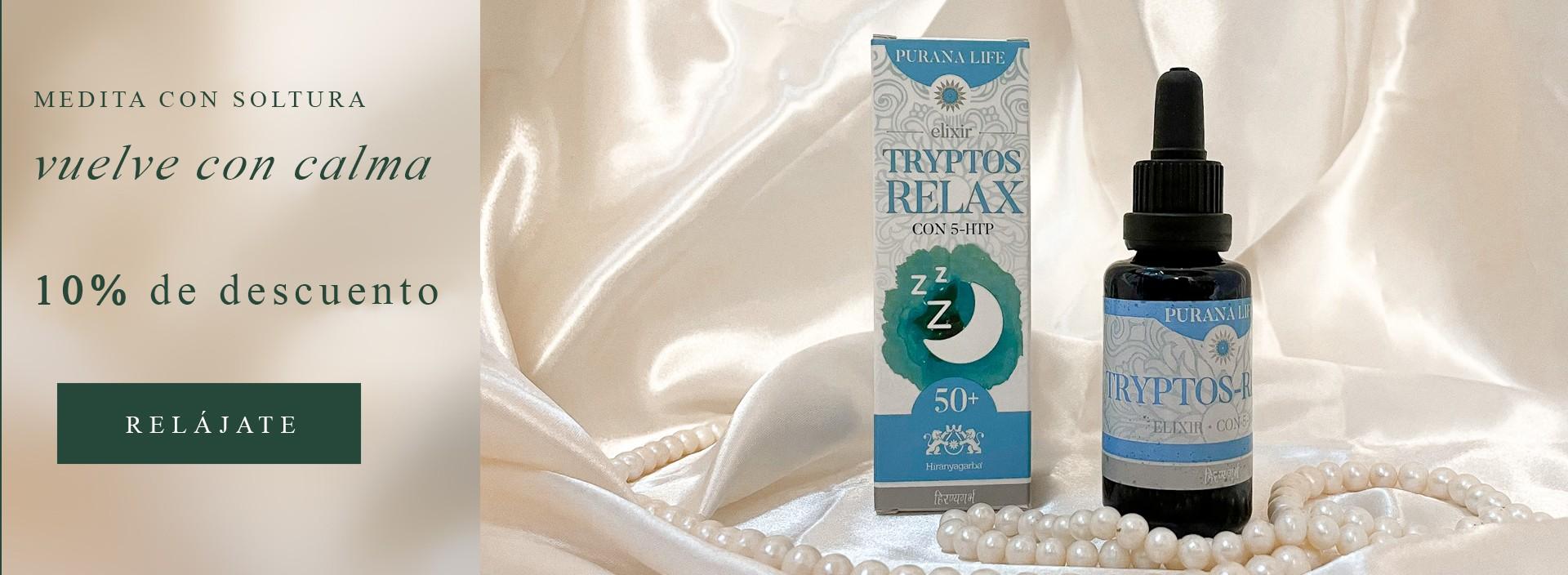 Tryptos Relax y vuelve a la rutina con calma